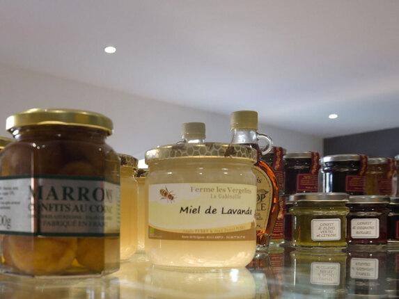 Produits en vente dans notre boutique à Cogolin